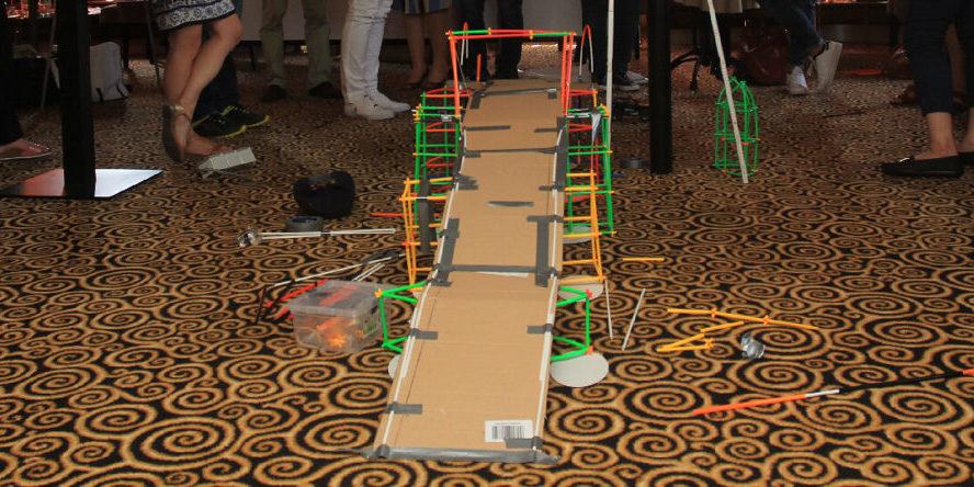 Teambuilding Idee The Bridge